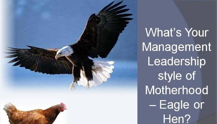 Hen or Eagle as Motherhood Management Model!